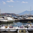 Naples and Mt.Vesuvius — Stock Photo