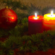 Christmas Candles — Stock fotografie #15731069