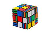 Puzzle Cube 3x3x7 — Stock Photo