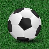 Soccer ball vector illustration — Stock Vector