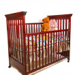 Stock Photo: Crib Waiting For Baby