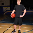 Royalty-Free Stock Photo: Teen Basketball Player