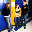 Stock Photo: Students Hanging Out