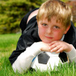 Young Soccer Player — Stock fotografie