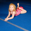Little Gymnast — Stock fotografie