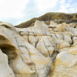 Alberta Badlands hoodoos — Stock Photo
