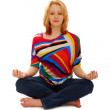 Woman in Peaceful Meditation - Foto de Stock