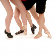 Dance Legs And Styles — Stock Photo