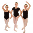 Stock Photo: BallerinDancers in Class