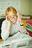 Fatigue at work — Stock Photo
