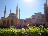 The Magnificent Mohammed el-Amine Mosque — Stock Photo