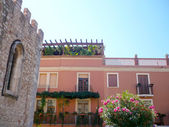 House in Taormina, Sicily — Stock Photo