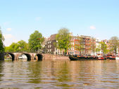 City scenic from Amsterdam — Stock Photo