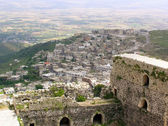 View from the Krak des Chevaliers, crusaders fortress, Syria — Stock Photo