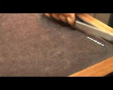 AMSTERDAM, THE NETHERLANDS - AUGUST 11: Diamond  factory in Amsterdam — Stockvideo