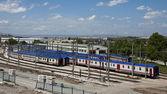Zug Wagen — Stockfoto