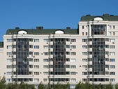 Typical Apartment Blocks — Stock Photo