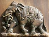 Elephant Relief — Stock Photo
