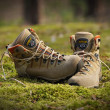 Boots Asolo for trekking — Stock Photo