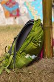 Backpack trekkers — Stock Photo