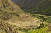 Settlement of the Incas in Peru — Stock Photo