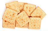 Cookies on white — Stock Photo