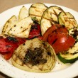 Stock Photo: Grilled vegetables