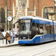 Stock Photo: Tram station