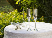 Wedding attributes — Stock Photo