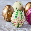 Royalty-Free Stock Photo: Easter eggs set