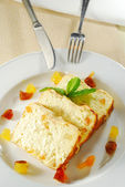 Cottage Cheese Casserole — Stock Photo