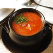 Ukrainian borscht — Stock Photo