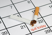 Quit smoking today — Foto Stock
