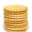 Set of cookies isolated — Stock Photo