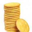 Cracker cookies - Stock Photo