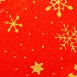 Royalty-Free Stock Photo: Christmas stars on the red background