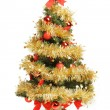 Decorated Christmas tree — Foto de Stock
