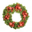 Decorative christmas wreath — Stock Photo #15611171