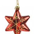 Christmas star shape toy — Stock Photo