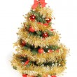 Decorated Christmas tree — Stock Photo