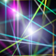 Abstract colorful laser rays — Stock Photo