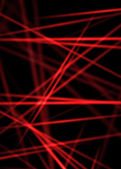 Texture of abstract red laser line rays — Stock Photo