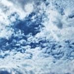 Dark storm clouds in sky — Stock Photo