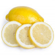 Lemon and slice — Stock Photo #33571137