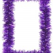 Tinsel frame — Stock Photo #36560865