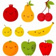 Royalty-Free Stock Vector Image: Funny fruits