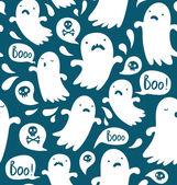 призрак шаблон — Cтоковый вектор