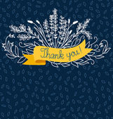 Thank you — Vector de stock