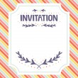 Invitation template — Stock Vector #18501577