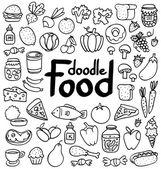 Food doodle — Stock Vector